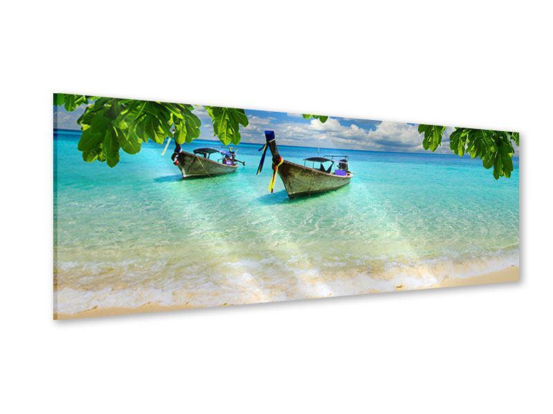 Acrylglasbild Panorama Ein Blick auf das Meer