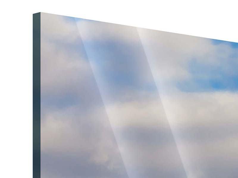 Acrylglasbild Panorama Pont de Normandie