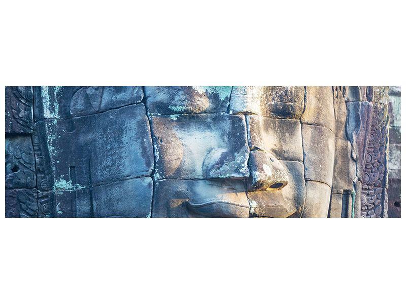 Acrylglasbild Panorama Buddha Statur