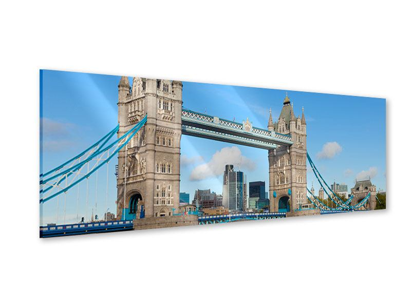 Acrylglasbild Panorama Die Tower Bridge