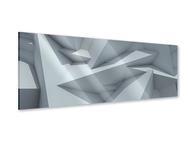 Acrylglasbild Panorama 3D-Kristallo