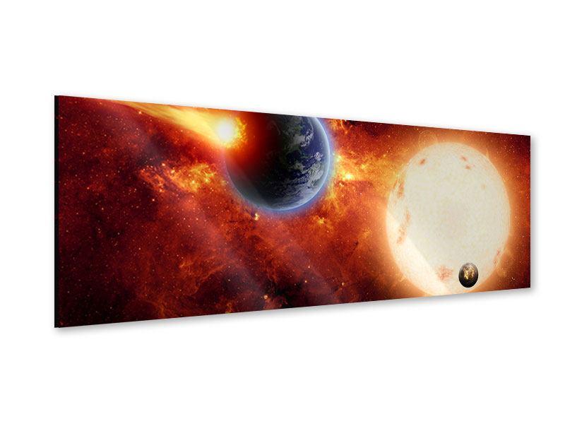 Acrylglasbild Panorama Der Kosmos