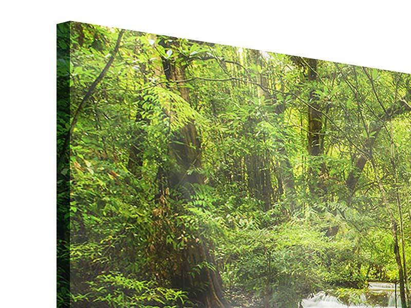 Acrylglasbild Panorama Erawan