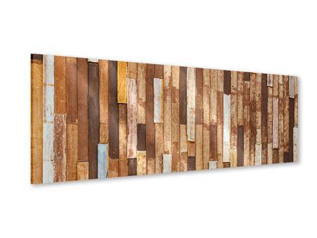 Acrylglasbild Panorama Designholz