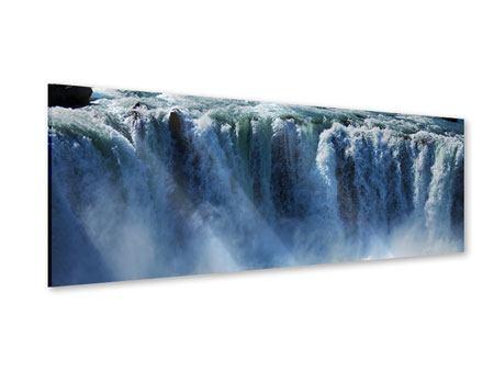 Acrylglasbild Panorama Mächtiger Wasserfall