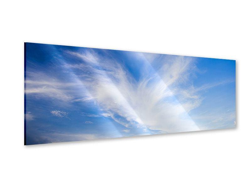 Acrylglasbild Panorama Schleierwolken