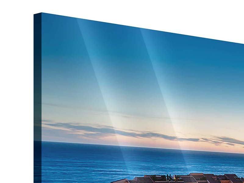 Acrylglasbild Panorama Monaco