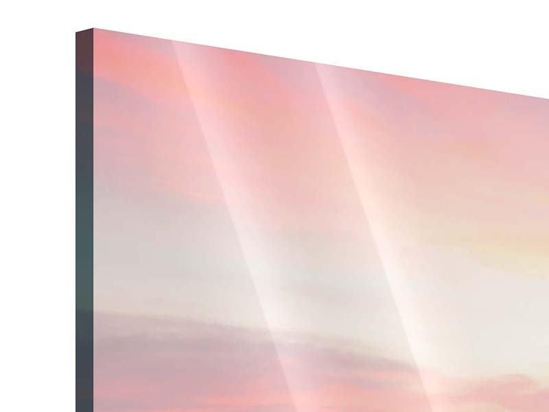 Acrylglasbild Panorama Der beruhigende Sonnenuntergang