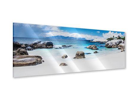 Acrylglasbild Panorama Inselfeeling