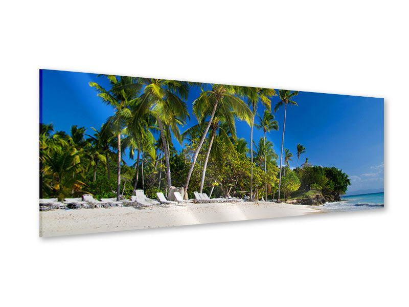 Acrylglasbild Panorama Aloha