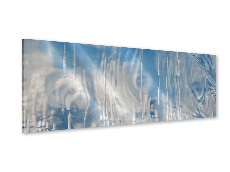 Acrylglasbild Panorama Das Eis des Baikalsees