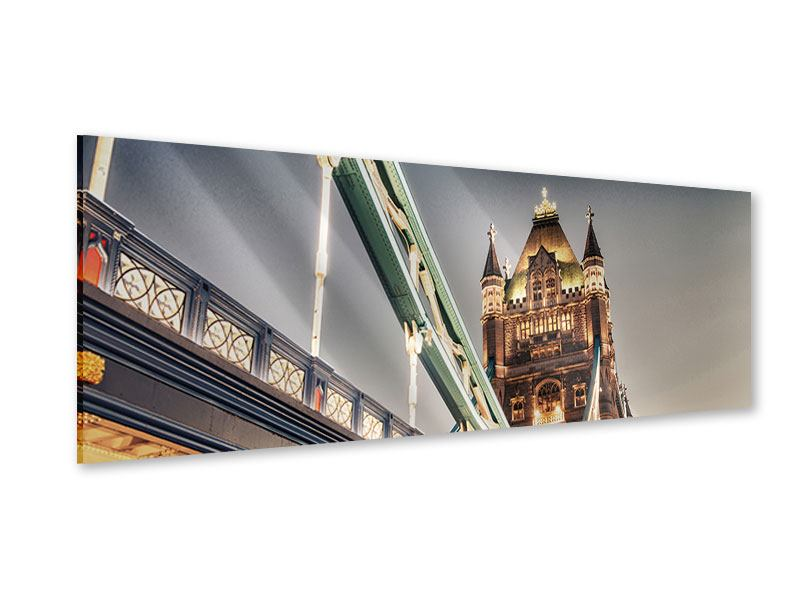 Acrylglasbild Panorama Tower Bridge XXL