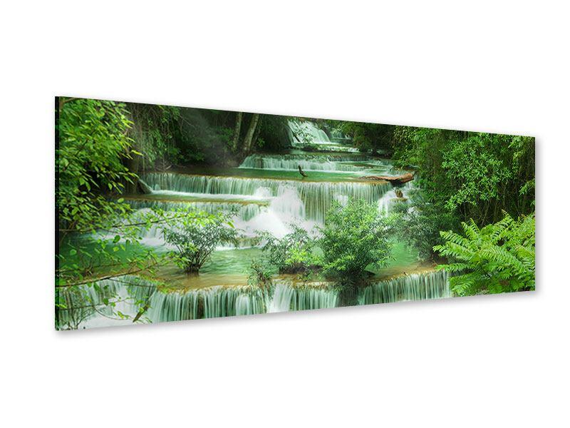 Acrylglasbild Panorama 7 Stufen in Thailand