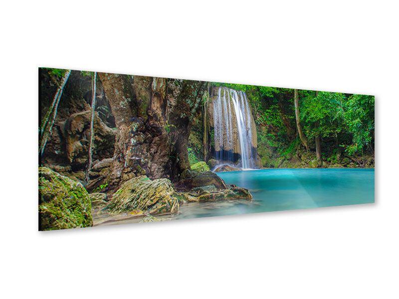 Acrylglasbild Panorama Fliessgewässer