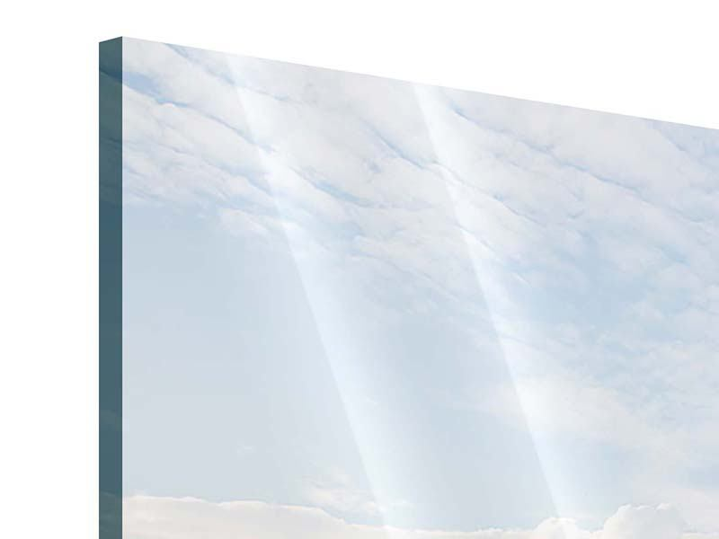 Acrylglasbild Panorama Helix-Brücke