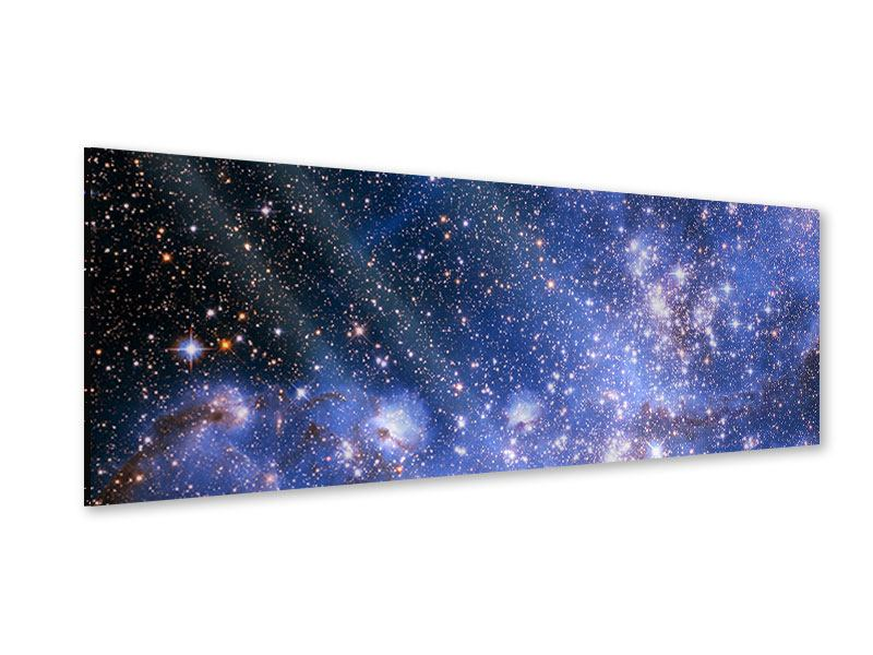 Acrylglasbild Panorama Sternenhimmel
