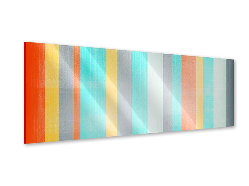 Acrylglasbild Panorama Grunge Streifen