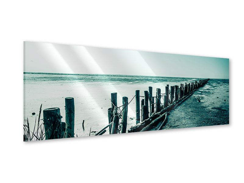 Acrylglasbild Panorama Das Wattenmeer