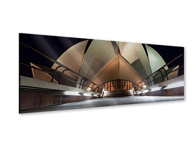 Acrylglasbild Panorama Der Lotus-Tempel