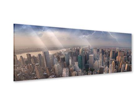 Acrylglasbild Panorama Manhattan