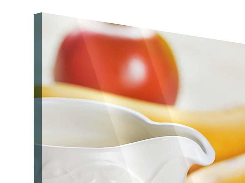 Acrylglasbild Panorama Frühstück