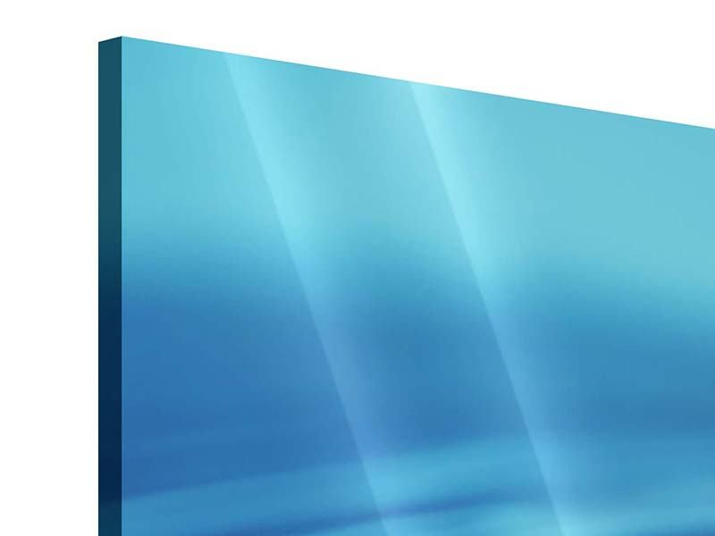 Acrylglasbild Panorama Der Wassertropfen