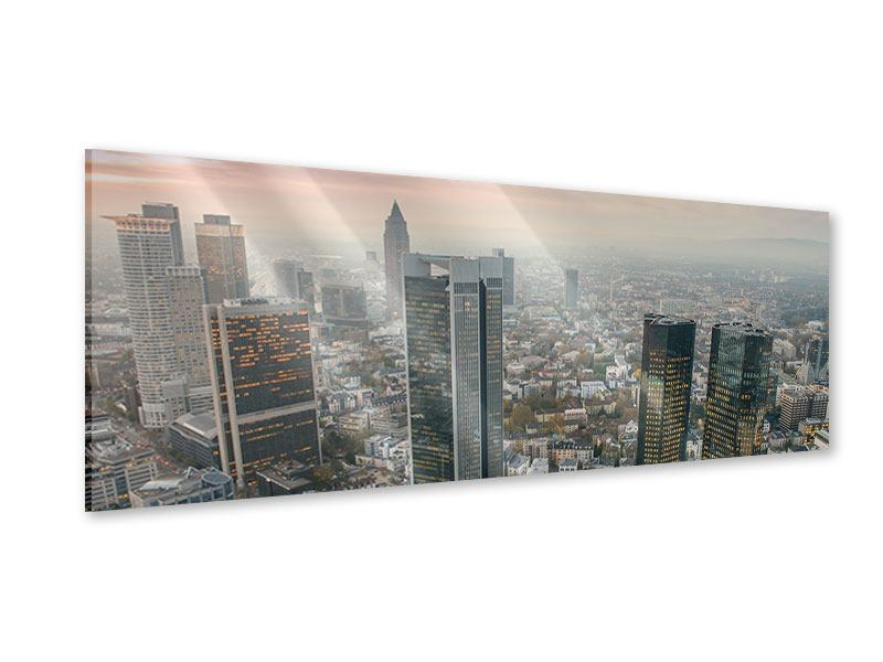 Acrylglasbild Panorama Skyline Penthouse in New York