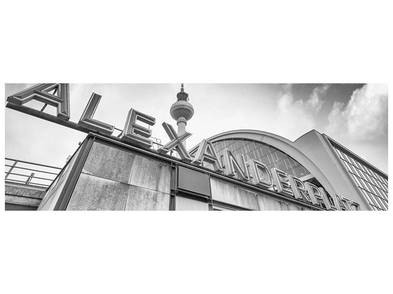Acrylglasbild Panorama Alexanderplatz