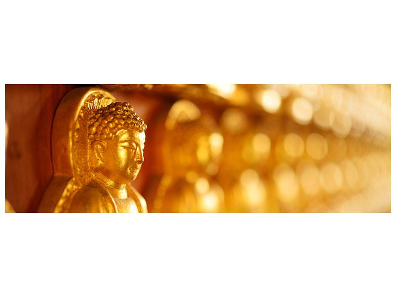 Acrylglasbild Panorama Buddhas