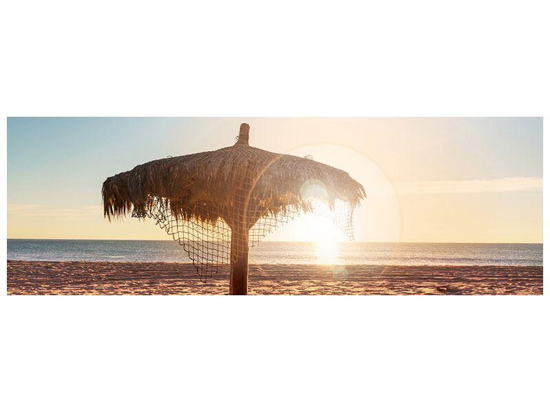 Acrylglasbild Panorama Der Sonnenschirm