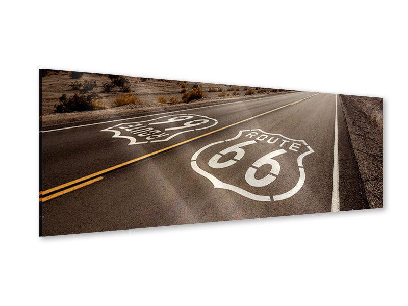 Acrylglasbild Panorama Route 66