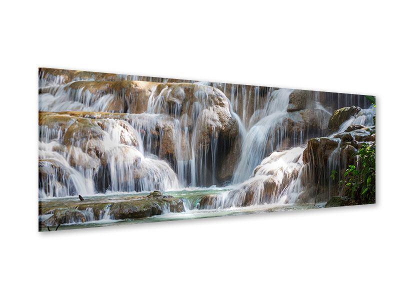 Acrylglasbild Panorama Mexikanischer Wasserfall