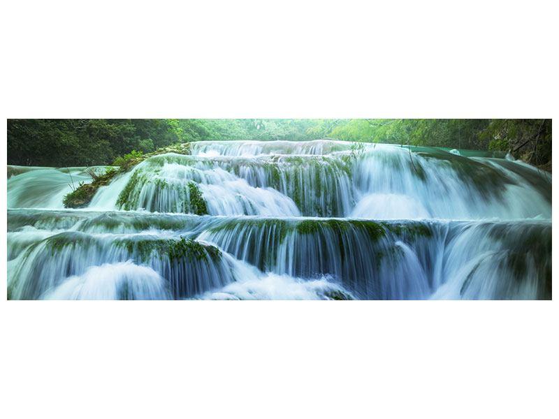 Acrylglasbild Panorama Gigantischer Wasserfall