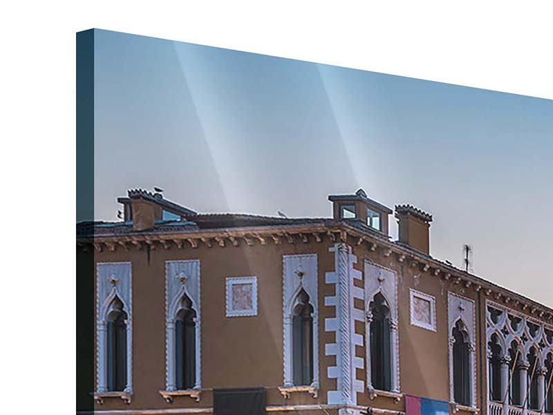 Acrylglasbild Panorama Romantisches Venedig