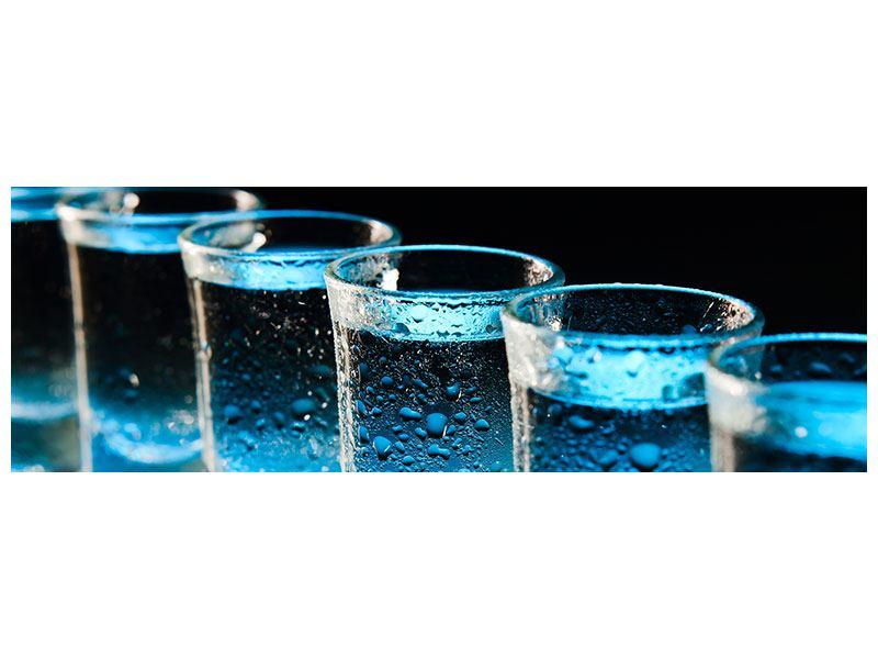 Acrylglasbild Panorama Wodka Pur