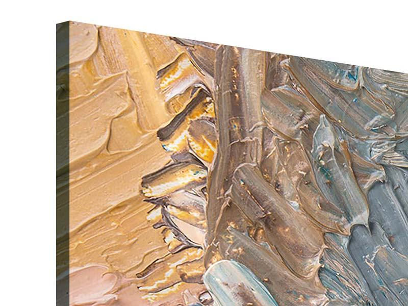 Acrylglasbild 3-teilig Ölgemälde
