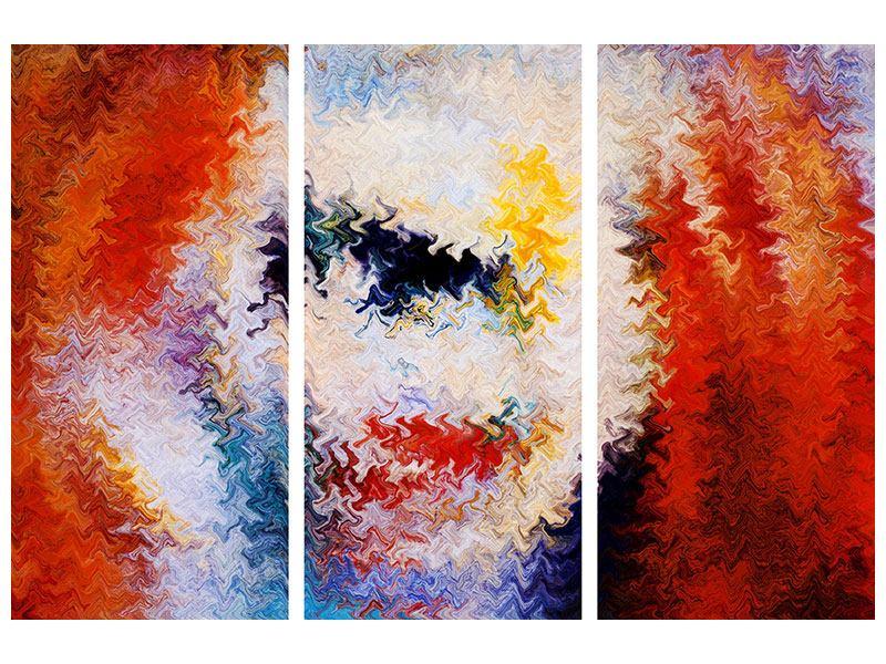 Acrylglasbild 3-teilig Wandmalerei