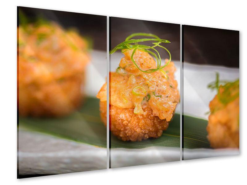Acrylglasbild 3-teilig Asiatische Küche