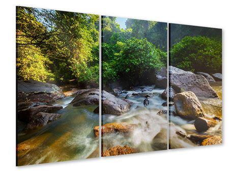 Acrylglasbild 3-teilig Das Gewässer