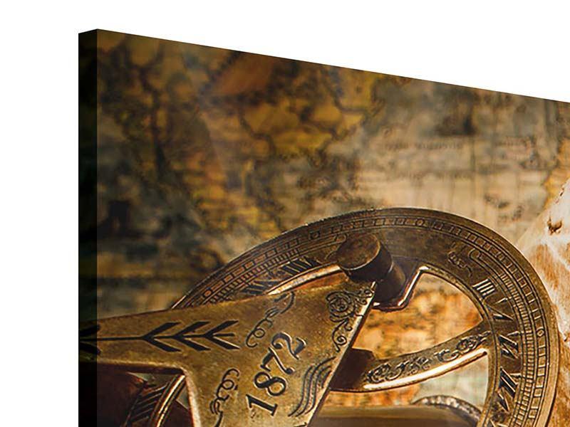 Acrylglasbild 3-teilig Schatzsuche