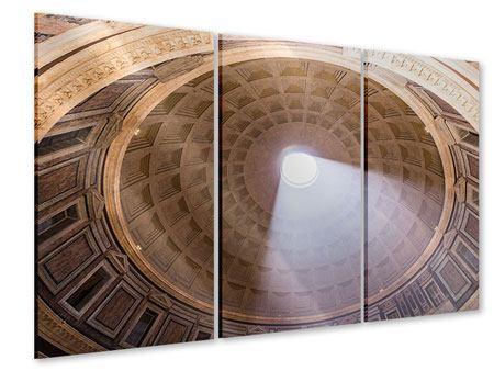 Acrylglasbild 3-teilig Petersdom
