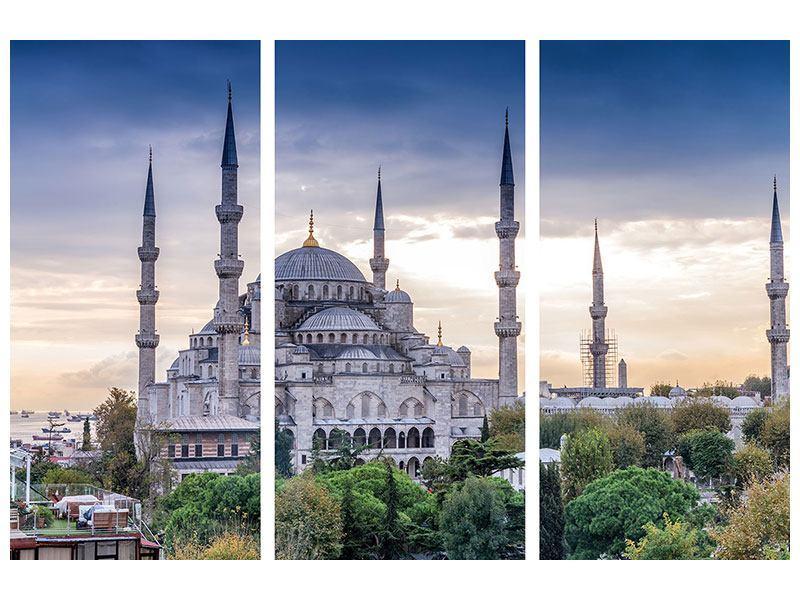 Acrylglasbild 3-teilig Istanbul
