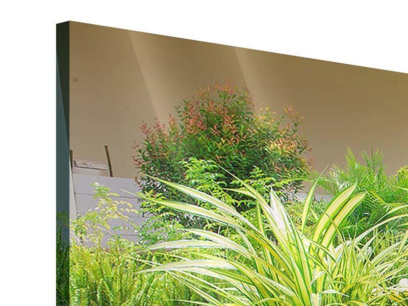 Acrylglasbild 3-teilig Paradiesgarten