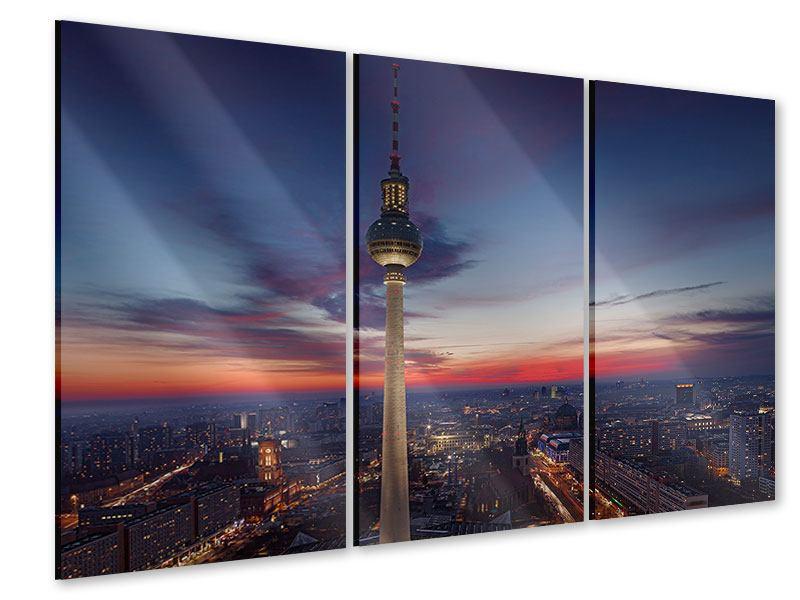 Acrylglasbild 3-teilig Berlin