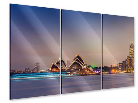 Acrylglasbild 3-teilig Opera House