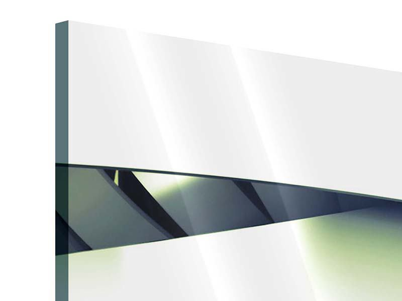 Acrylglasbild 3-teilig Abstrakte Perspektiven