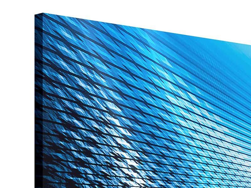 Acrylglasbild 3-teilig Laser