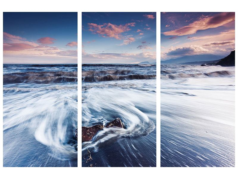 Acrylglasbild 3-teilig Ort der Sehnsucht