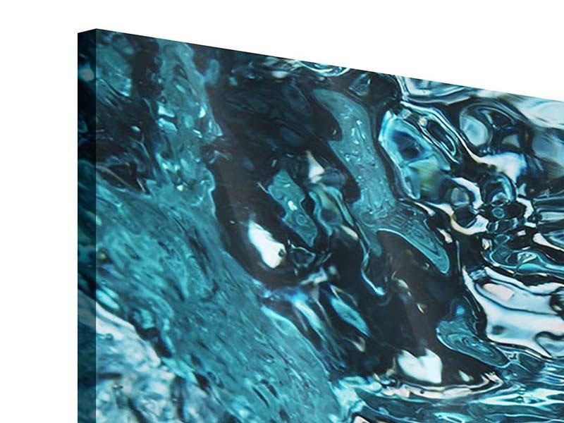 Acrylglasbild 3-teilig Schönheit Wasser