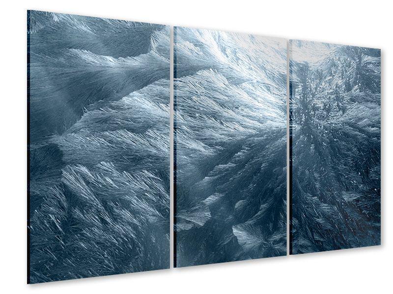 Acrylglasbild 3-teilig Eis